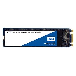 Unidad SSD WESTERN DIGITAL 1TB WD Blue 3D NAND, M.2 WDS100T2B0B