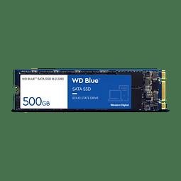 Disco Duro 500GB WD Blue™ SATA SSD M.2 2280  WDS500G2B0B