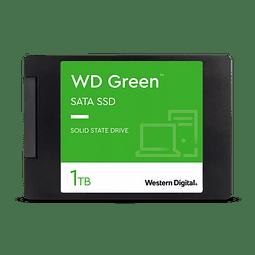 DISCO DURO WD Green™ 1TB SATA SSD 2,5 pulgadas/7 mm con carcasa WDS100T2G0A