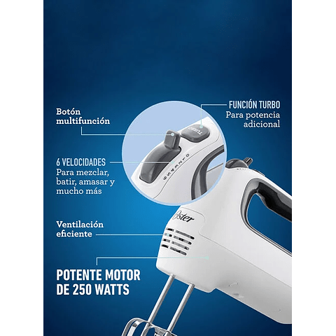 Batidora Oster Manual FPSTHM3532