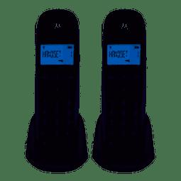 Teléfono Motorola Pack de 2 Inalámbricos M700-2
