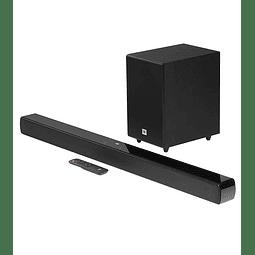 JBL Cinema SB140 Barra de sonido de 2.1 canales con subwoofer con cable