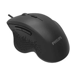 Mouse inalambrico Philips SPK7624 negro