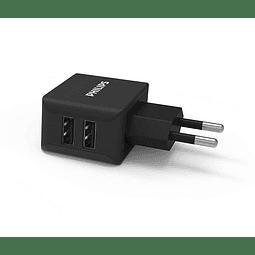 Cargador USB dual de pared DLP2502/78