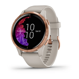 GARMIN Venu™ Light Sand with Rose-gold Hardware
