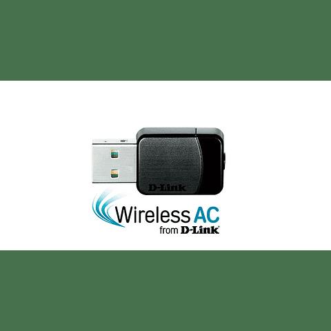 D-Link Wireless AC Dual-Band Nano USB Adapter DWA-171