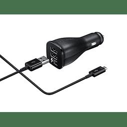 Cargador Para auto con cable micro usb Samsung