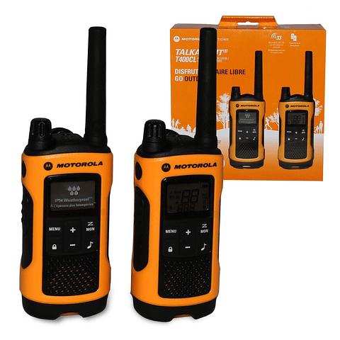 Radio Comunicador T400CL 34 millas / 33 canales Motorola