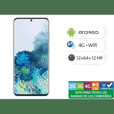 Telefono Celular Samsung S20+ Negro 128gb DS con cargador inalambrico philips de regalo