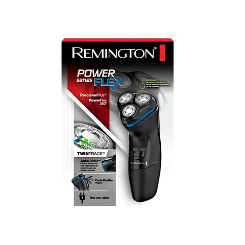 AFEITADORA REMINGTON SERIES FLEX NEGROPR1330 (220) R