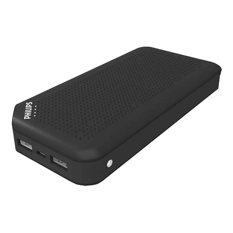 Power Bank Philips Dlp2720nb 20.000mah X2 Usb Linterna Led