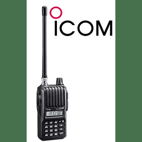 RADIO PORTATIL ICOM IC V80, VHF, BANDA CORRIDA, 5.5 W