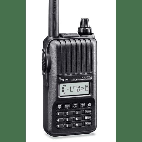 IC-T70A Transceptor de doble banda VHF/UHF ICOM