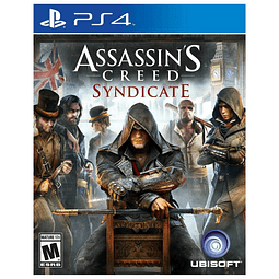 JUEGO PLAYSTATION 4 ASSASSINS CREED SYNDICATE 17+