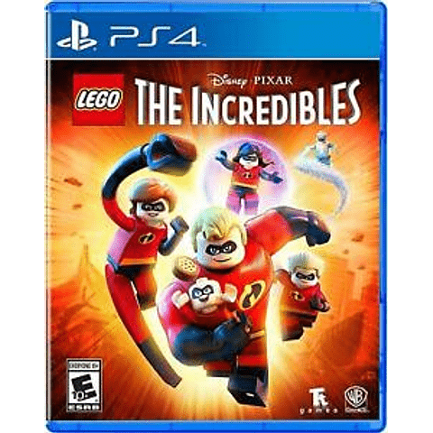 JUEGO PLAYSTATION 4 THE INCREDIBLES TE