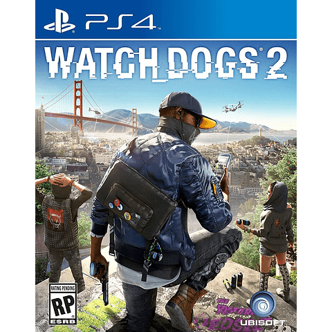 JUEGO PLAYSTATION 4 WATCH DOGS 2 17+