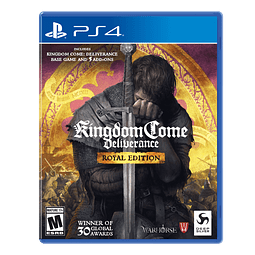 JUEGO PLAYSTATION 4 KINGDOM COME DELIVERANCE 17+
