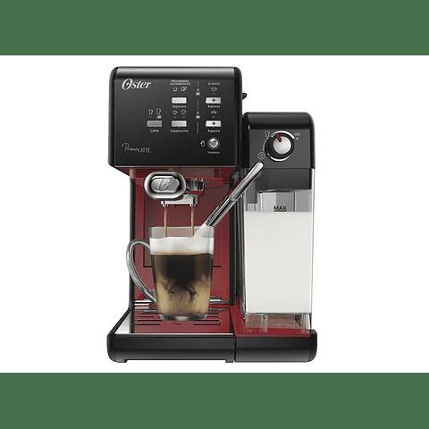 Cafetera automática PrimaLatte Oster 19 bares negro y rojo BVSTEM6701B-052