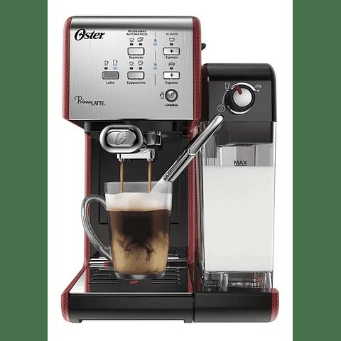 Cafetera automática PrimaLatte Oster 19 bares rojo BVSTEM6701RF-052