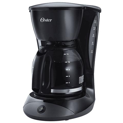 Cafetera Oster negra de 12 tazas con función de pausa y servir CDW12B