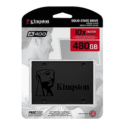 Disco Duro Ssd Kingston 480gb A400 SA400S37/480G