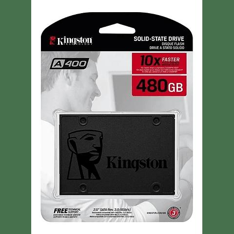 Disco Duro Ssd Kingston 480gb A400 SA400S37/480G