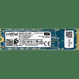 Crucial MX500 500GB 3D NAND M.2 Type 2280 Internal SSD CT500MX500SSD4