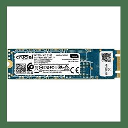 Unidad de estado sólido Crucial MX500 (CT250MX500SSD4), 250GB, M.2, 2280