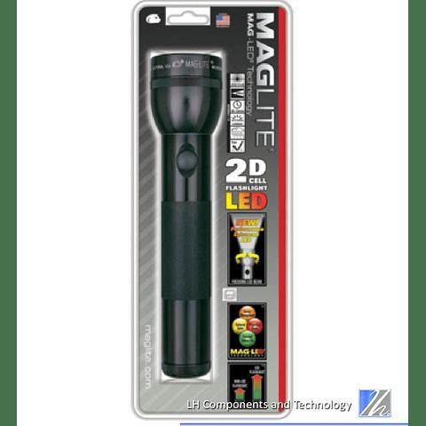 MAGLITE ST2D016 2-D Cell linterna LED, Negro – 168 – lúmenes