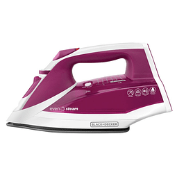 PLANCHA BLACK + DECKER ROSADO IR2011-CL