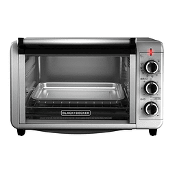 HORNO BLACK + DECKER PLATA TO3210SSD-CL