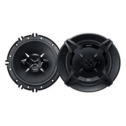 Parlantes SONY  Coaxiales 3 Vías de 16 cm XS-FB1630