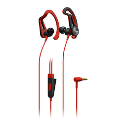 AUDIFONO PIONEER E5 SPORTS ROJO