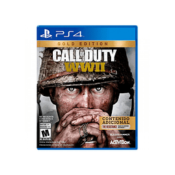 JUEGO CALL OF DUTY WW II GOLD EDITION PS4