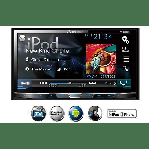 RADIO AUTO PIONEER AVH-X5750TV CON TV DIGITAL  (C/ANTENA)    DVD  CON BLUETOOTH