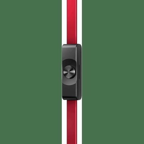 Pioneer SE-MJ722T-T - Auriculares, Color NEGRO/ROJO, 23.1 x 20 x 10.5 cm