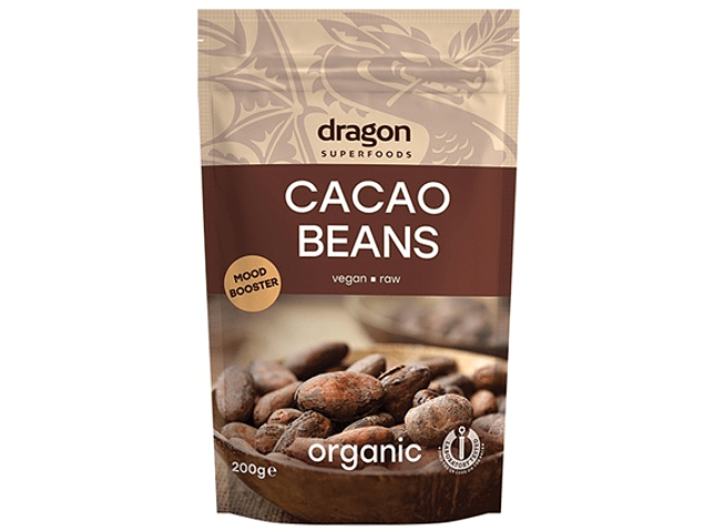 Cacao Beans Raw Organic 200 gr.