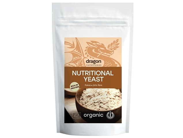 Nutritional Yeast Flakes Raw Organic 100 gr.