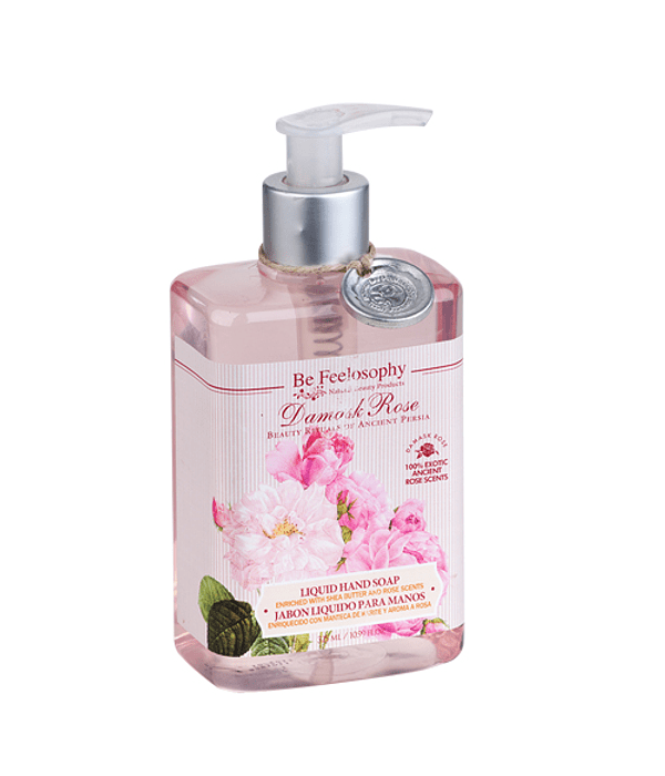 Jabón Líquido para ManosDamask Rose 325ML