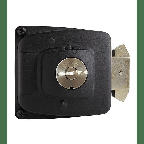 Cerradura de Corredera, seguridad o bodega para puertas de hasta 50 mm