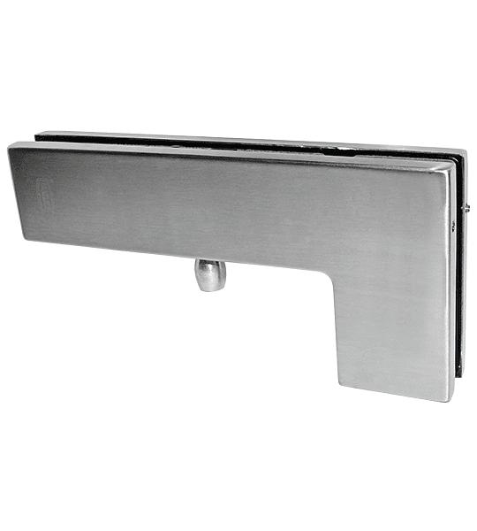 "Herraje superior Conector Tipo ""L"" para puerta vidriada DT-7014"