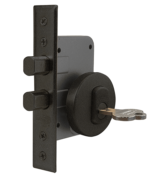 Cerradura de embutir de Seguridad, cilindro en ambos lados