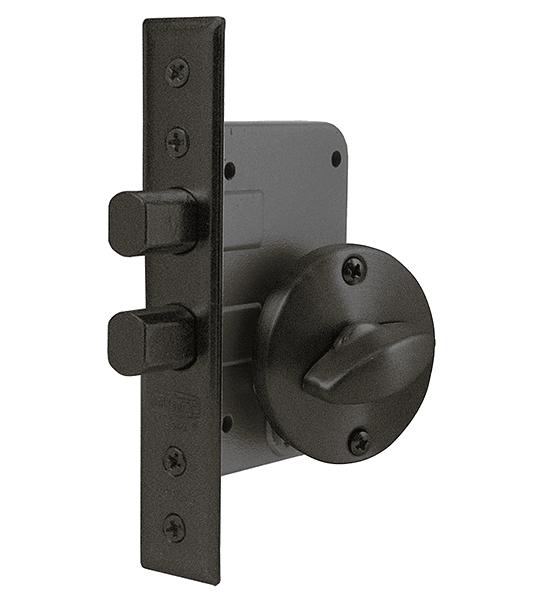 Cerradura de embutir de Seguridad, seguro interior / cilindro exterior