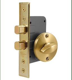 Cerradura de embutir de Seguridad, seguro interior /cilindro exterior