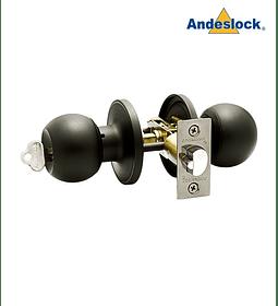 Cerradura de Pomo, acceso principal, bodega Andeslock