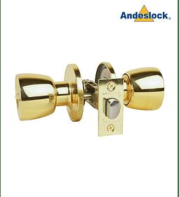 Cerradura de Pomo, baño, dormitorio Andeslock