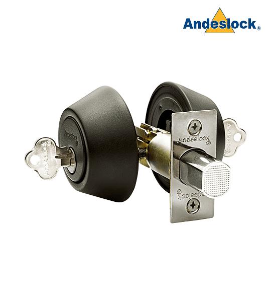 Cerrojo de Seguridad con cilindro por ambos lados Andeslock