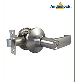 Cerradura tubular con manillas, baño, dormitorio Andeslock