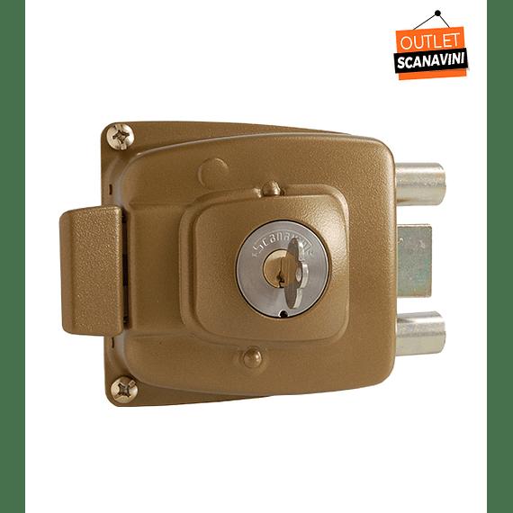 Cerradura de acceso Principal, reja o bodega para puertas de hasta 50 mm