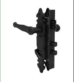 Cerradura con manillas 935 Acceso Principal (seguro interior/llave exterior)